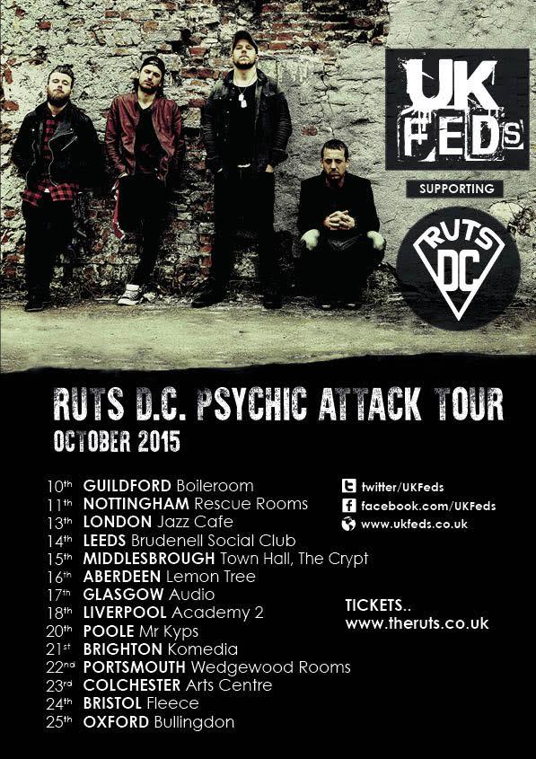UK Feds Ruts Tour